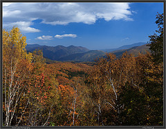 Nagano Autumn Panorama